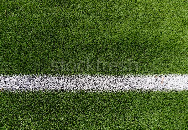 Сток-фото: линия · трава · спорт · игры