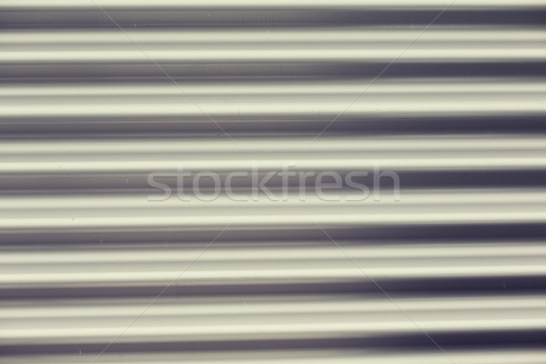 Alluminio metal garage porta sfondo Foto d'archivio © dolgachov