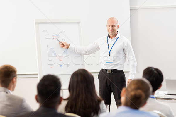 group of people at business conference  Stock photo © dolgachov