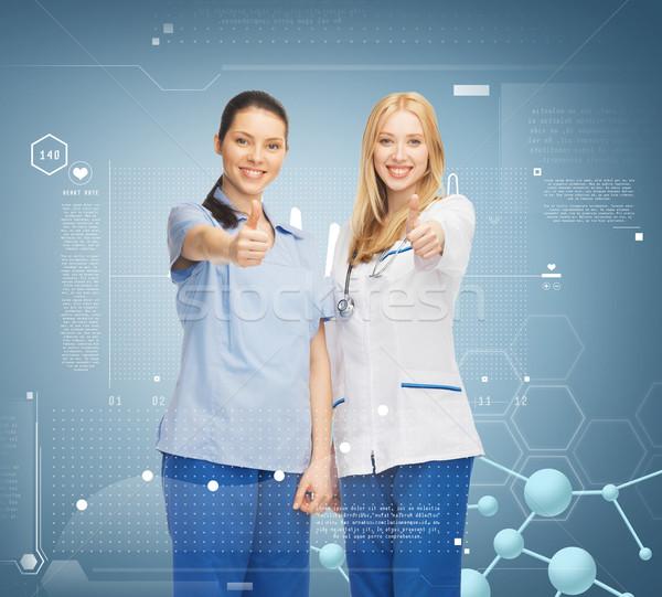 Сток-фото: два · врачи · здравоохранения · исследований