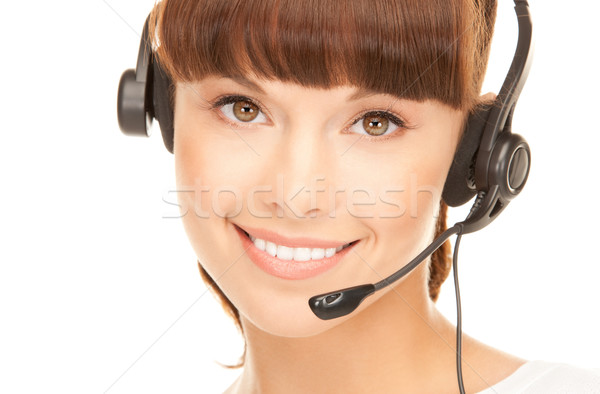 Stock photo: helpline