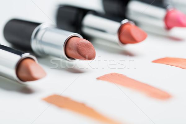 Alcance cosméticos make-up beleza moda Foto stock © dolgachov