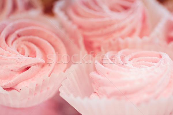 關閉 甜 乳蛋糕 甜點 食品 烹飪 商業照片 © dolgachov