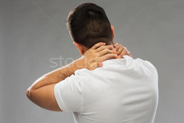 Homme souffrance personnes santé Photo stock © dolgachov