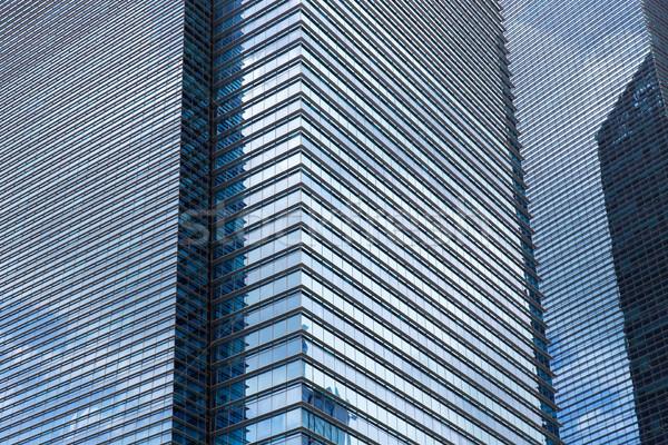 Nowoczesne biurowiec fasada architektury budowy miasta Zdjęcia stock © dolgachov