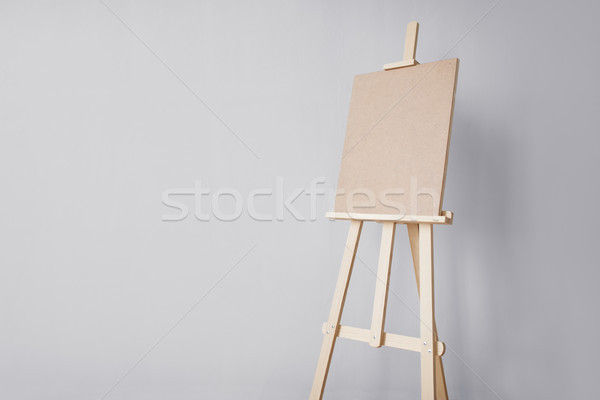 wooden easel at art studio Stock photo © dolgachov