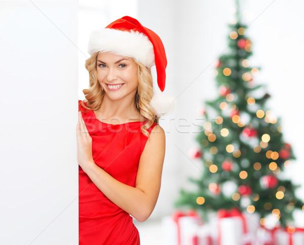 Сток-фото: улыбаясь · Hat · зима