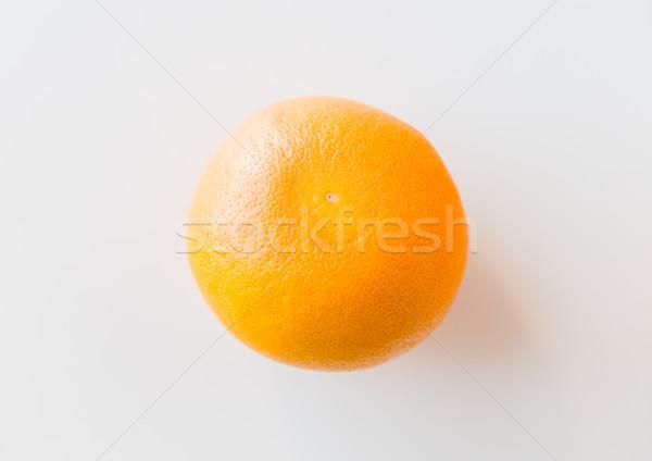 Rijp grapefruit witte vruchten dieet objecten Stockfoto © dolgachov