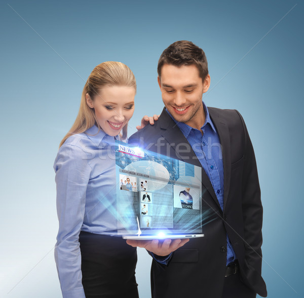 Stock foto: Business-Team · Business · Technologie · Internet · News