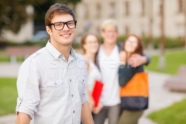Одноклассники назад лет праздников образование Сток-фото © dolgachov