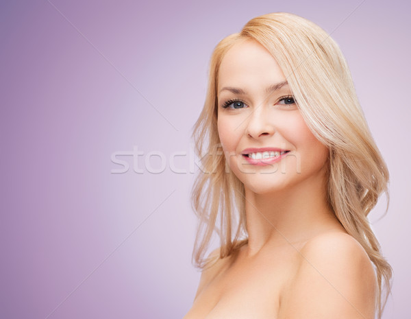 Piękna młoda kobieta twarz piękna ludzi zdrowia Zdjęcia stock © dolgachov