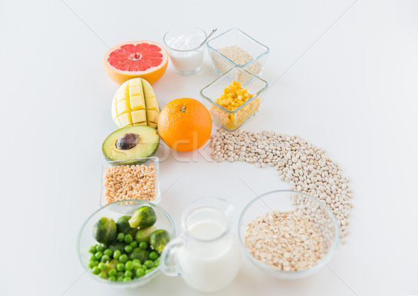продовольствие Ингредиенты письме форма Сток-фото © dolgachov