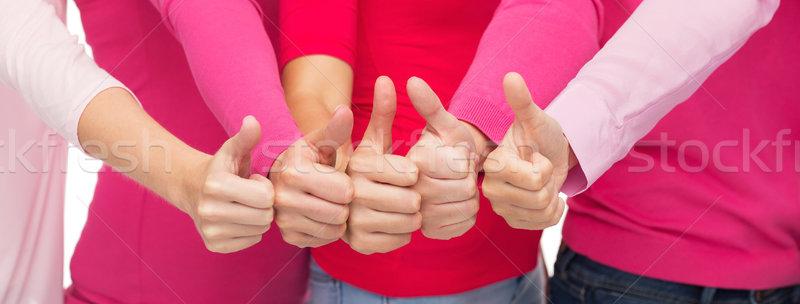 Frauen rosa Stock foto © dolgachov