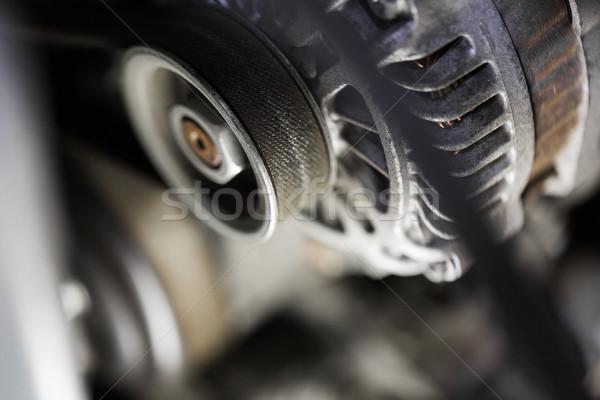 машина механизм промышленности промышленных колесо Сток-фото © dolgachov