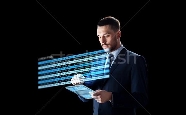 Affaires stock graphiques affaires Photo stock © dolgachov