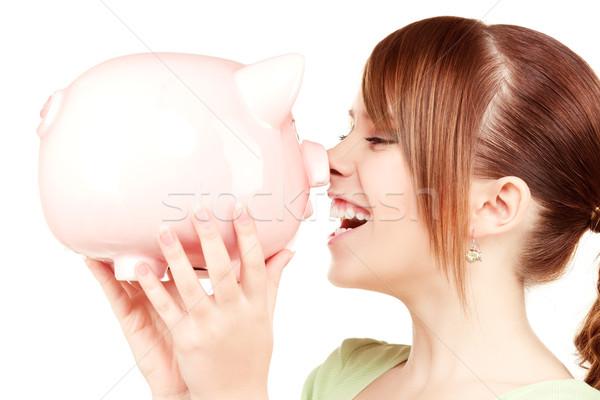 ストックフォト: 十代の少女 · 貯金 · 画像 · 女性 · 肖像 · 代
