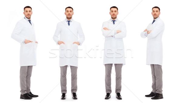 doctors in white coat Stock photo © dolgachov