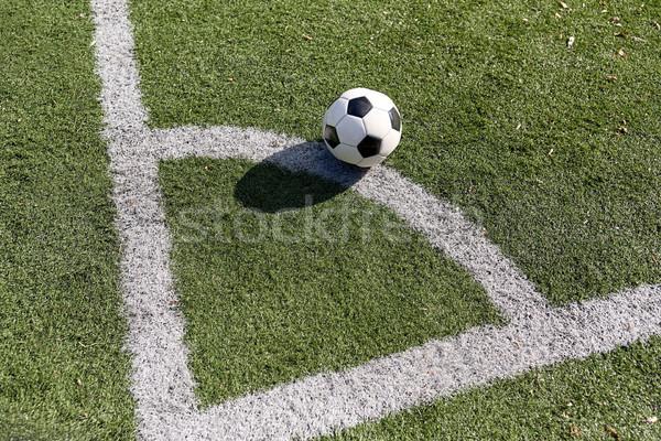 Futebol campo de futebol esportes futebol jogo bola Foto stock © dolgachov