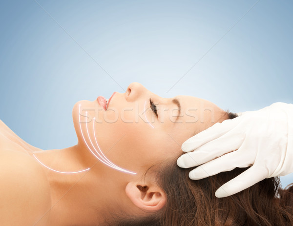 cosmetic surgery Stock photo © dolgachov