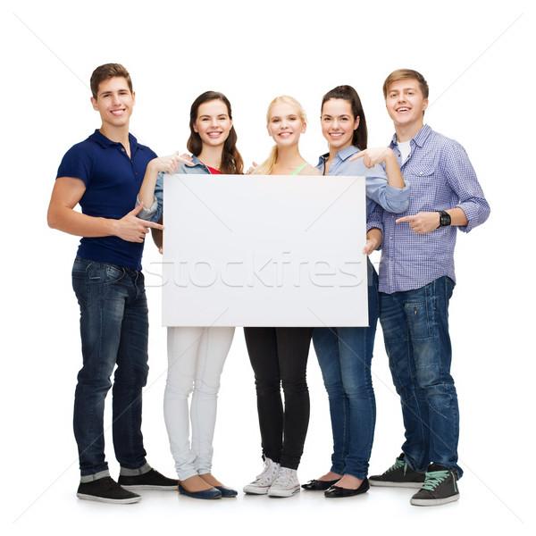 組 微笑 學生 白 板 教育 商業照片 © dolgachov