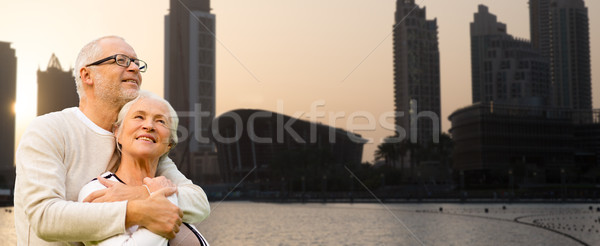 Dubai stad familie leeftijd Stockfoto © dolgachov