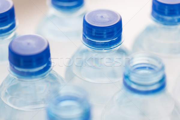 プラスチック ボトル 飲料水 リサイクル 健康的な食事 ストックフォト © dolgachov