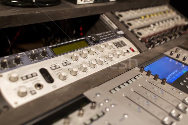 Musica consolare suono tecnologia elettronica Foto d'archivio © dolgachov