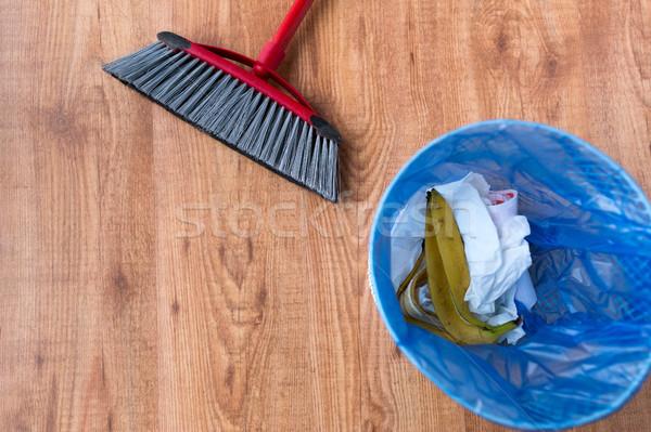 Hulladék táska szemét takarítás otthon házimunka Stock fotó © dolgachov
