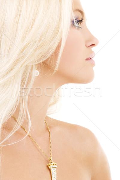 diamond pendant Stock photo © dolgachov
