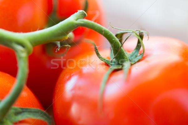 Photo stock: Juteuse · rouge · tomates · régime · alimentaire