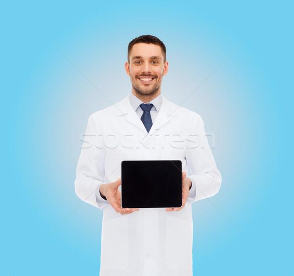 Stok fotoğraf: Gülen · erkek · doktor · tıp · meslek · sağlık
