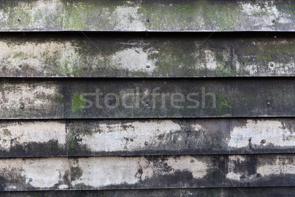 close up of old shutter Stock photo © dolgachov