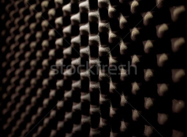 Hab gumi akusztikus anyag anyagok textúra Stock fotó © dolgachov