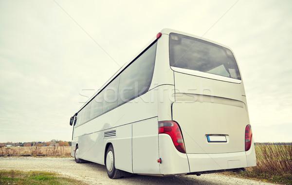 Turné busz vezetés kint utazás turizmus Stock fotó © dolgachov