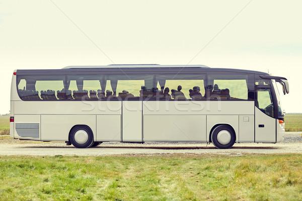 tour bus staying outdoors Stock photo © dolgachov