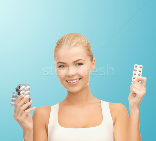таблетки здоровья медицина диета аптека Сток-фото © dolgachov