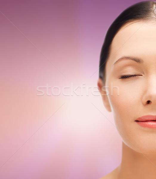 Młoda kobieta zdrowia kobieta Zdjęcia stock © dolgachov