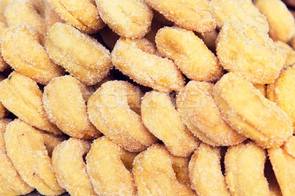 sugared donuts texture Stock photo © dolgachov