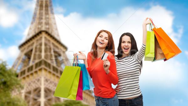 Stok fotoğraf: Kredi · kartı · alışveriş · satış · turizm
