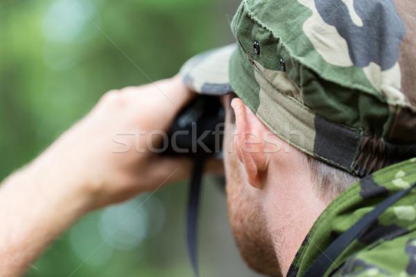 Stok fotoğraf: Asker · avcı · avcılık · savaş · ordu