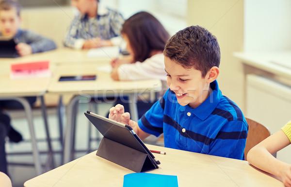 Stockfoto: School · kinderen · klas · onderwijs
