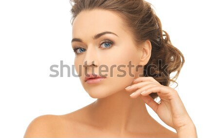 woman with one cocktail ring Stock photo © dolgachov