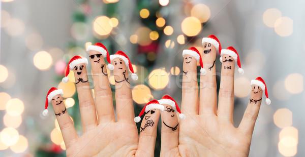 Dita Natale Foto d'archivio © dolgachov