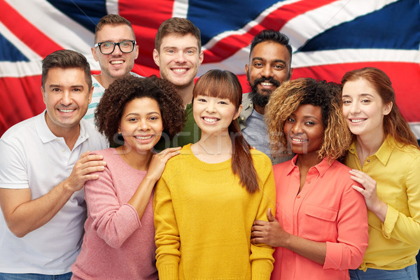 Internazionali gruppo felice sorridere persone diversità Foto d'archivio © dolgachov