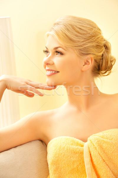 ストックフォト: 美人 · スパ · サロン · 画像 · 女性 · ボディ