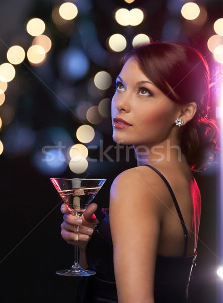 女性 カクテル 高級 vip ナイトライフ パーティ ストックフォト © dolgachov