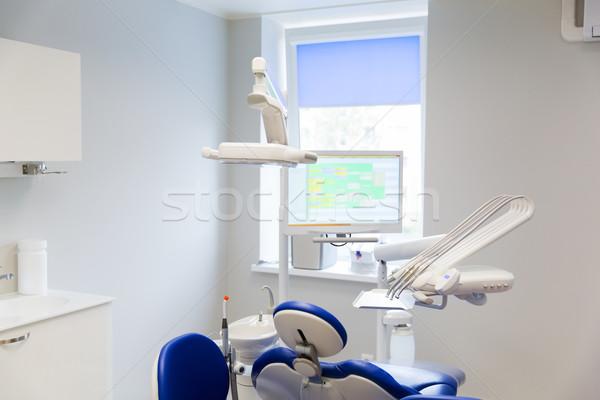 dental clinic office with medical equipment Stock photo © dolgachov