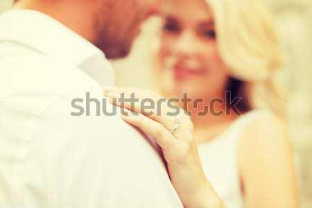 Mutlu evli lezbiyen çift Stok fotoğraf © dolgachov