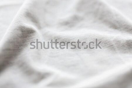 Algodão têxtil tecido textura fundo Foto stock © dolgachov