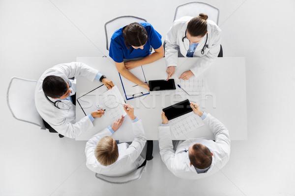 Médecins hôpital médecine santé cardiologie Photo stock © dolgachov